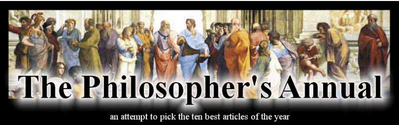 Philosophers annual copy